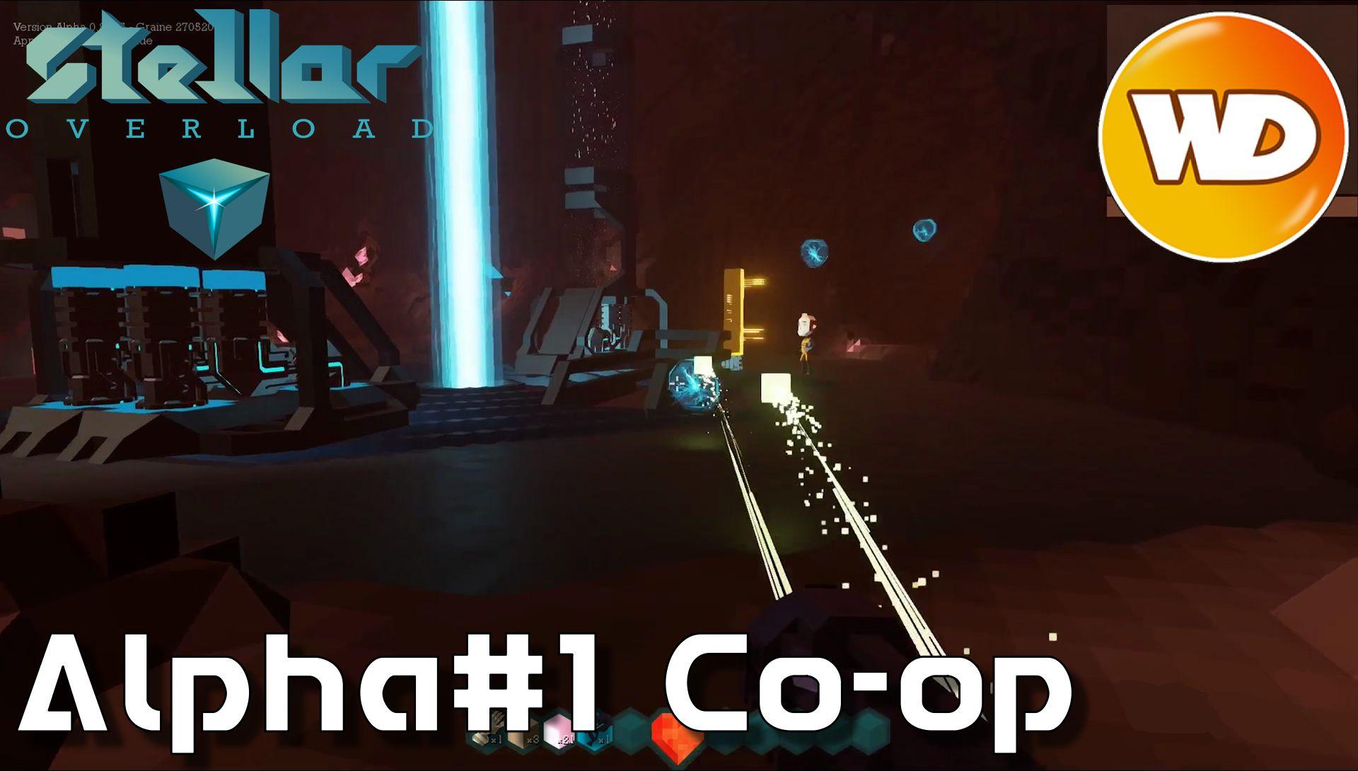 Planets Cube / Stellar Overload - FR - Coop - Alpha 1 - intégral