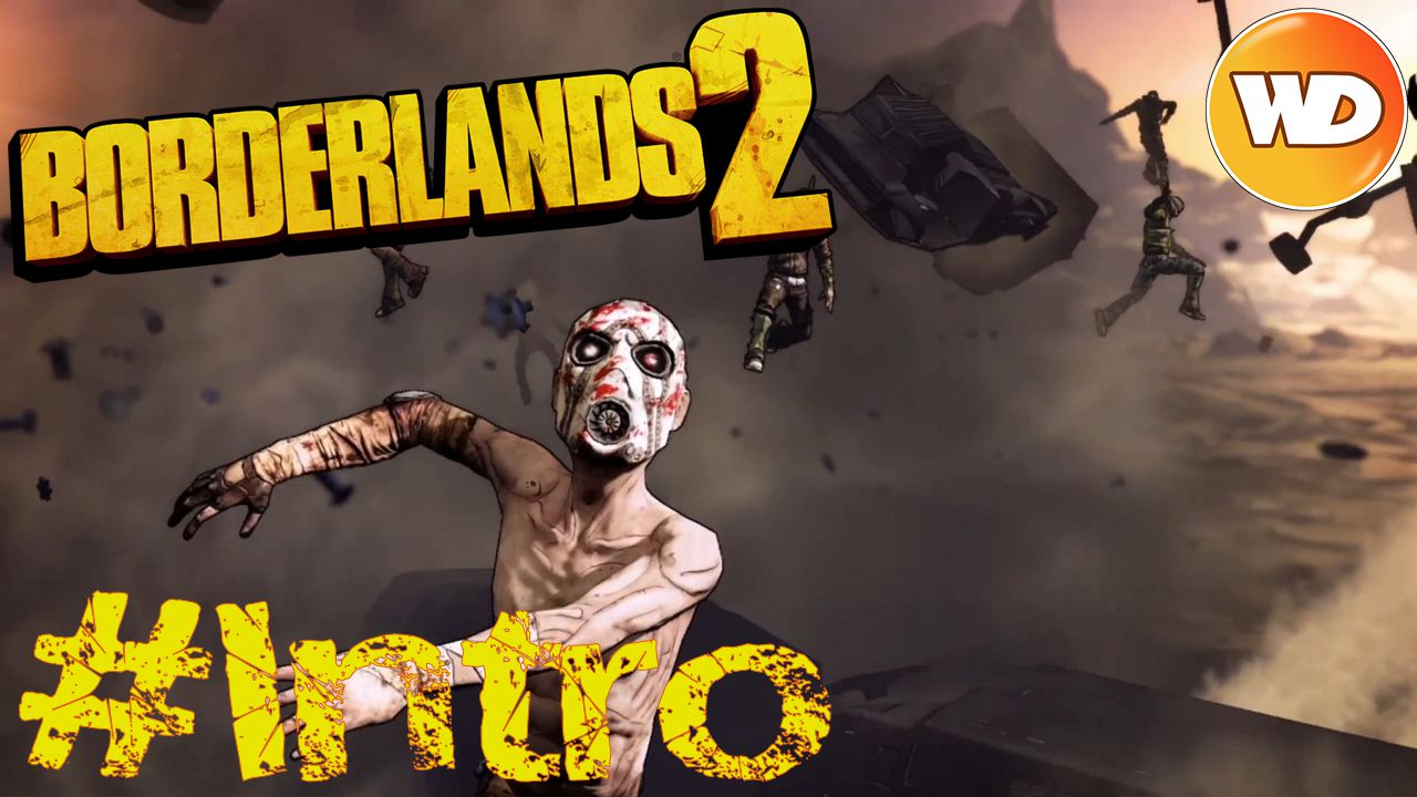 Borderlands 2 - FR - Let's Play Coop - cinématique d'introduction