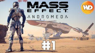 Mass Effect Andromeda - FR - Let's Play - épisode 1 - Les Pionniers