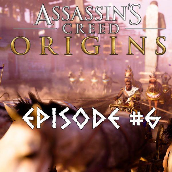 Assassin's Creed Origins - FR - Let's play - Episode 6 - Découverte de l'hippodrome