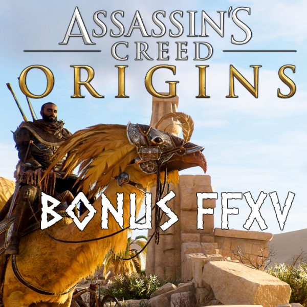 Assassin's Creed Origins - FR - Let's play - La quête Final Fantasy XV (15)