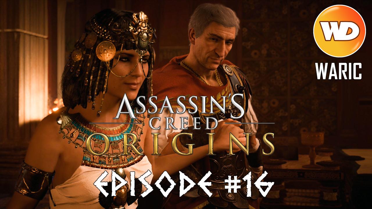 Assassin's Creed Origins - FR - Let's play - Episode 16 - Le Scorpion Pothinus