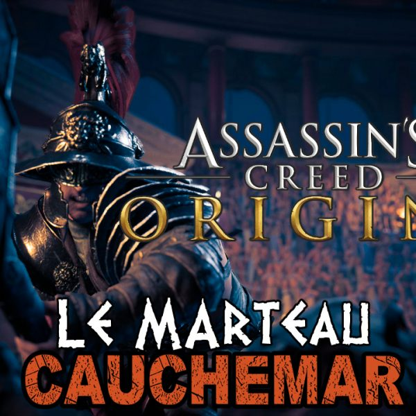 Assassin's Creed Origins - FR - Let's play - Le gladiateur Le Marteau à Cyrène (mode cauchemar)