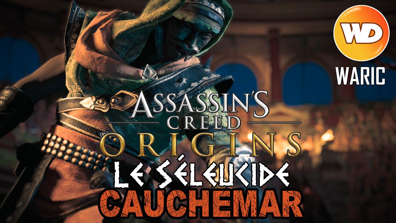 Assassin's Creed Origins - FR - Let's play - Le gladiateur Le Séleucide à Cyrène (mode cauchemar)
